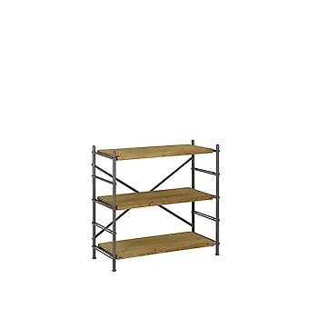 Light & Living Shelving Unit 3 Layers 100x42x93 Cm LIMA Wood