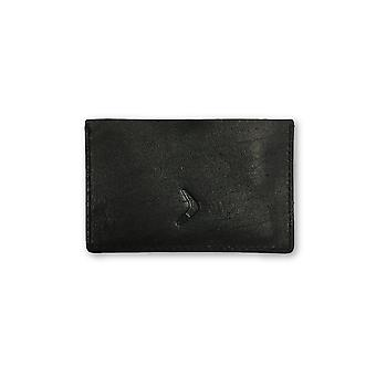 Boomerang card holder in black