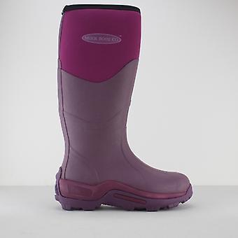 Muck Boots Greta Ladies Rubber Wellington Boots Fuchsia
