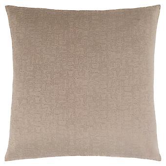 """18"""" x 18"""" Taupe, Mosaic Velvet - Pillow"""