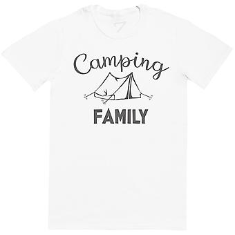 Camping Family - Matching Set - Baby Bodysuit & Kids T-Shirt, Mum & Dad T-Shirt