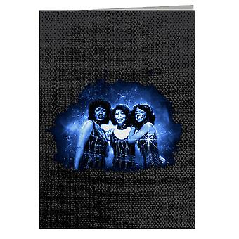 TV Times The Three Degrees Pop Group Greeting Card