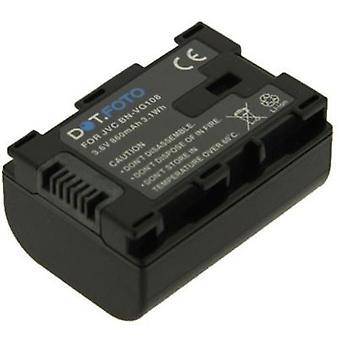 Dot.Foto JVC BN-VG107, batteria di ricambio BN-VG108 - 3, 6V / 860mAh
