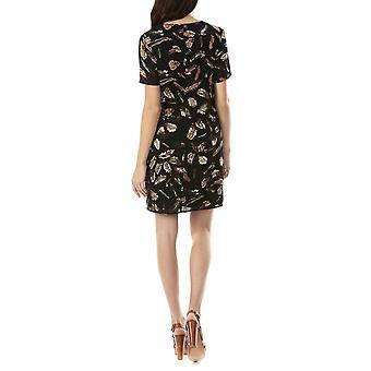 Sugarhill Boutique naisten ' s Yvette sulka tulosta tie mekko