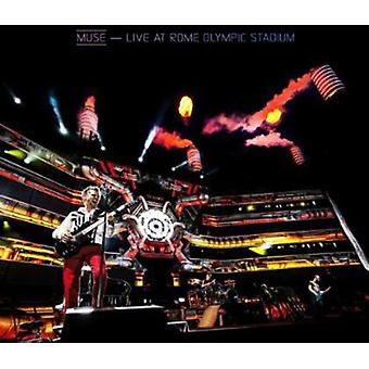 Muse - Live at the Rome Olympic Stadium (Blu-ray/CD) [CD] USA import