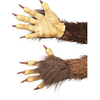 الوحش / Krampus قفازات شيطان، هالوين يتوهم اللباس الملحقات، حجم واحد