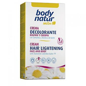 Body Natur Discoloration Facial and Body Hair
