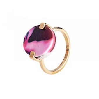 Christian Lacroix Ac tate XF22012AD Ring - Women's Dor Steel 14mm