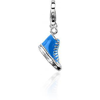 Charm sten Lawson JC99A212 - berlock hänge Converse blå kvinna