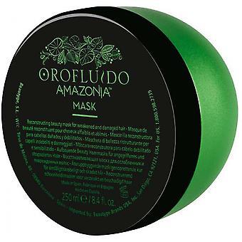Orofluido Amazonia maske-svækket hår og AB m s