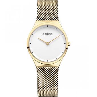 12131-339 - Goldarmband Stahlnetz Mailänder Frau Bering Classic zu sehen
