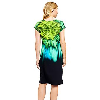 Féraud 3205068-10472 Women's Multicolor Aqua Beach Dress