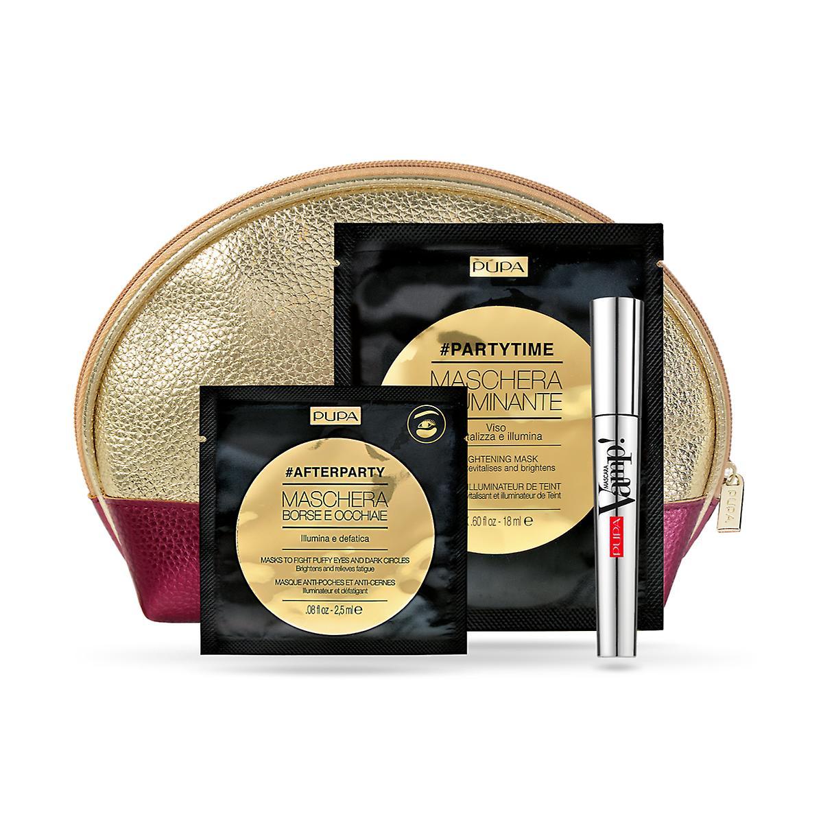 Vamp! Mascara, Brightening Mask & Eye Patch - Gift Set