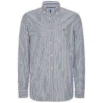 Tommy Hilfiger Slim Fit Soft Touch Stribet skjorte