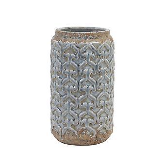 Lys & Levende Pot Deco 18x30cm Marapi Blå