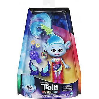 Trolls World Tour Glam Chenille Deluxe Fashion Doll