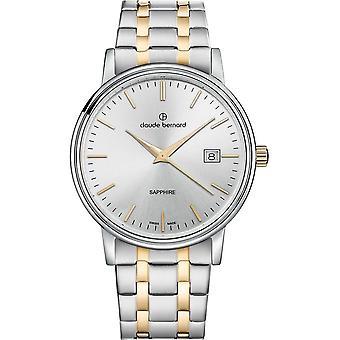 Claude Bernard - Horloge - Mannen - Classic Gents 42mm - 53009 357JM AID