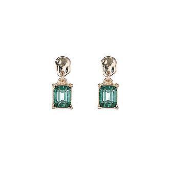 Green Gem Jewel Earrings