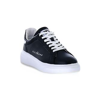 Richmond calf black sneakers fashion