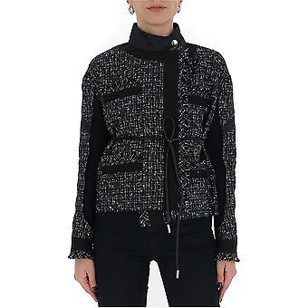 Sacai 2005006001 Women's Black Cotton Outerwear Jacket