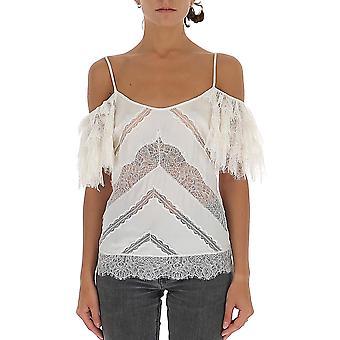 Amen Acw19200081 Femmes-apos;s White Polyester Top