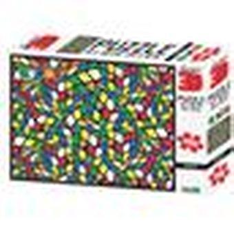 Geeked Rubik's Super 3D Puzzles 500 Pieces