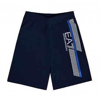 EA7 Boys Emporio Armani Boy's EA7 Navy Blue Shorts