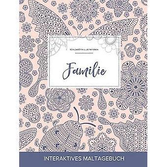 Maltagebuch fr Erwachsene Familie Schildkrten Illustrationen Marienkfer by Wegner & Courtney