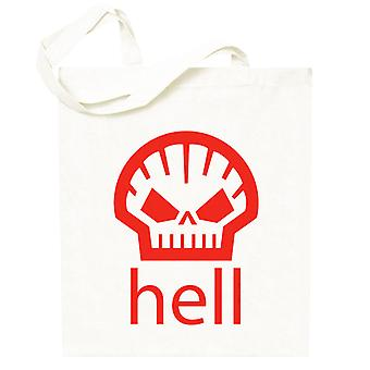 Hell Shell Logo As Worn By Heath Ledger Totebag