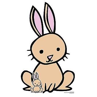 Cute Rabbit  Animal Cardboard Cutout / Standee / Standup