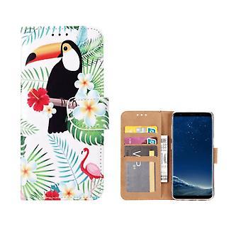 FONU Buch Modell Fall Toucan Samsung Galaxy S8 Plus