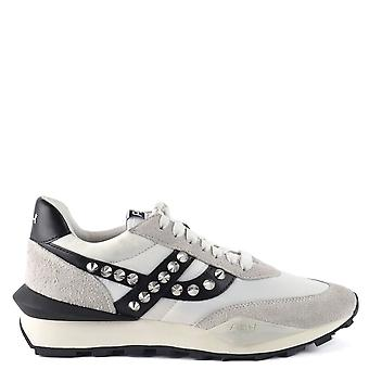 Ash SPIDER STUDS Eco Trainers Grey & White