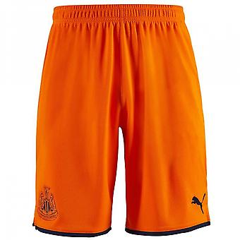2019-2020 Newcastle Third Football Shorts (Oranje)