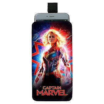 Captain Marvel Pull-up Mobile Bag