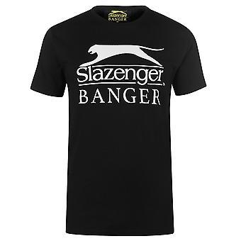 Slazenger Banger Mens Logo T Shirt