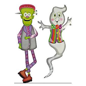 Halloween und Horror Frankenstein und Ghost Halloween Dekoration 152 cm