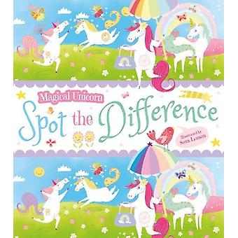 Magical Unicorn Spot the Difference by Sam Loman - 9781788881531 Book
