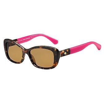 Kate Spade Claretta/P/S 0T4/SP Havana-Pink/Bronze Sunglasses