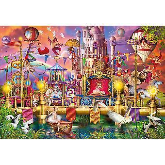 Clementoni Magic Circus Parade High Quality Jigsaw Puzzle (2000 Pieces)