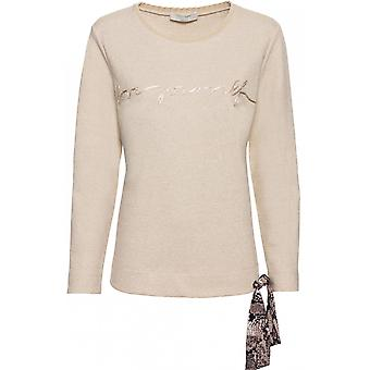 Bianca Metallic Detailed Sweatshirt
