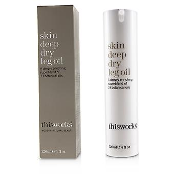 Skin deep dry leg oil 120ml/4oz