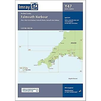 Imray Chart Y47 - Falmouth Harbour (Small Format) by Imray - 978178679