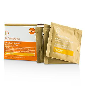 Alpha beta glow pad for face gradual glow 212918 20 towelettes