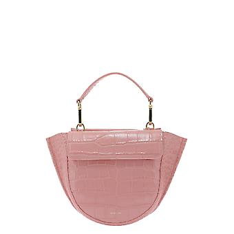 Sac à main Wandler Hortensiacrococalfleatherblossom Women-apos;s Pink Leather