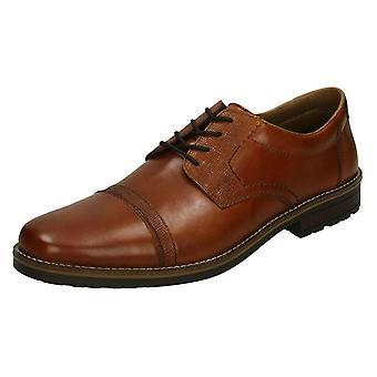 Mens Rieker Lace Up Formal Shoes 13210