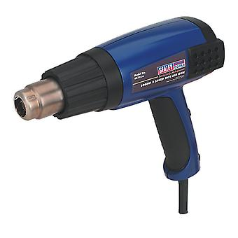 Sealey Hs102 Hot Air Gun 2000W 3-Speed 50-600
