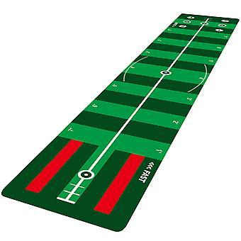 Longridge 4 Speed Track Golf Putting Mat 3 Meter Long