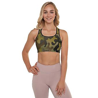 Padded Sports Bra | Special Camouflage