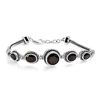Friendship Elite Shungite Bracelet Women Sterling Silver Size 7
