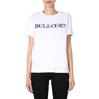 Moschino 071104401001 Women's White Cotton T-shirt